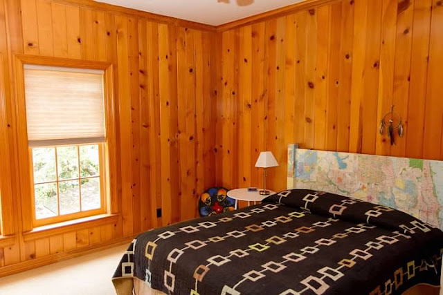 Thats A Lot Of Knotty Pine Right
