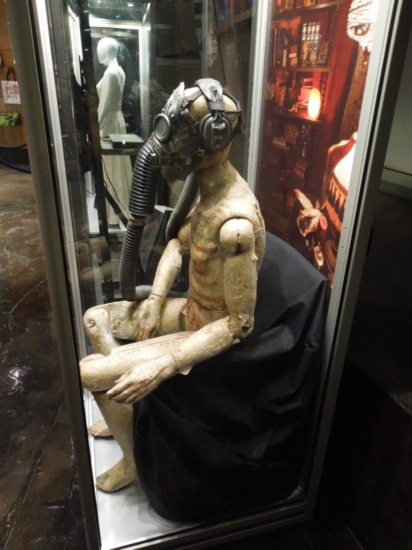 Insidious 2 Gas mask mannequin exhibit
