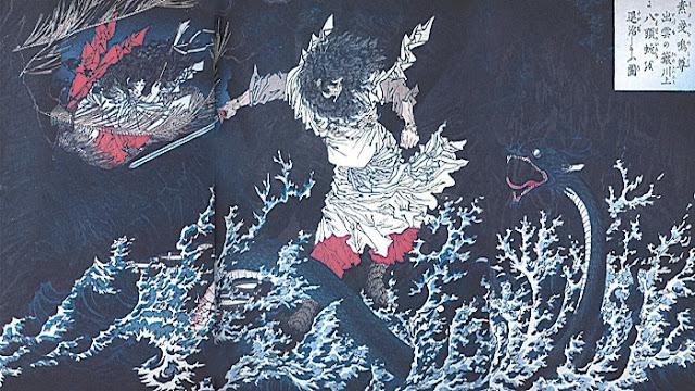 Yamata-no-Orochi, susanoo