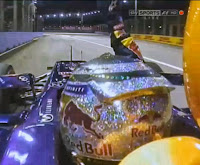 Formula 1 - Sebastian Vettel Wins Singapore Grand Prix 2013