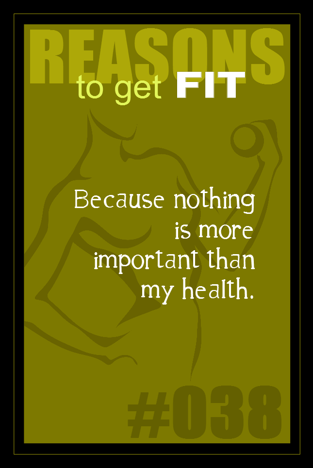 365 Reasons to Get Fit #038