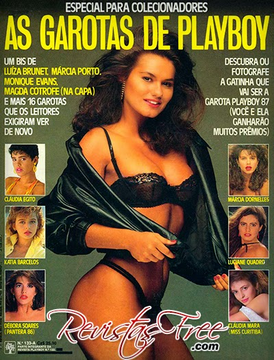 Playboy Especial - As Garotas de Playboy - Agosto 1986