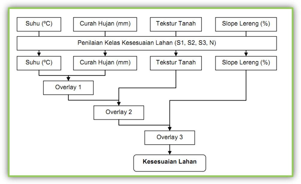 Lathifah_Geo: Proses Pembuatan Peta Kesesuaian Lahan Untuk