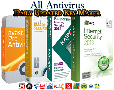 Download All Antivirus Daily Updated Key Maker 2013 v1.0