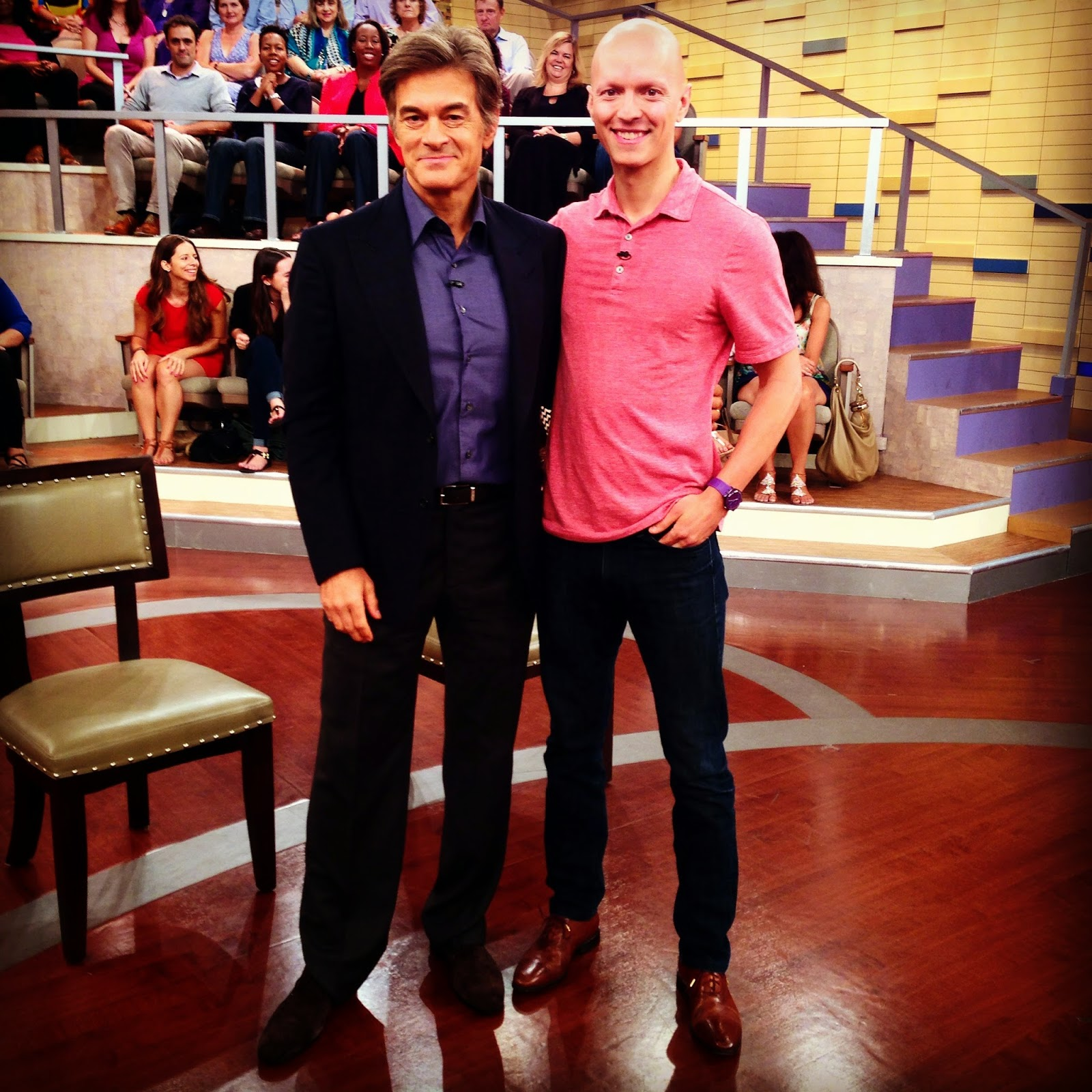 Yuri Elkaim on Dr. Oz program show