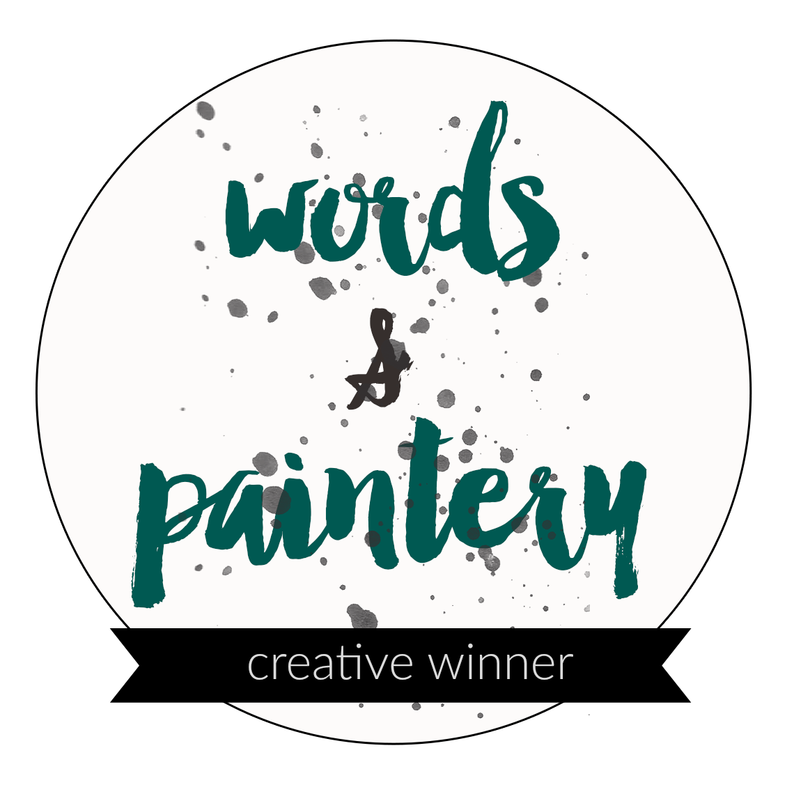 Words & Paintery challenge winner