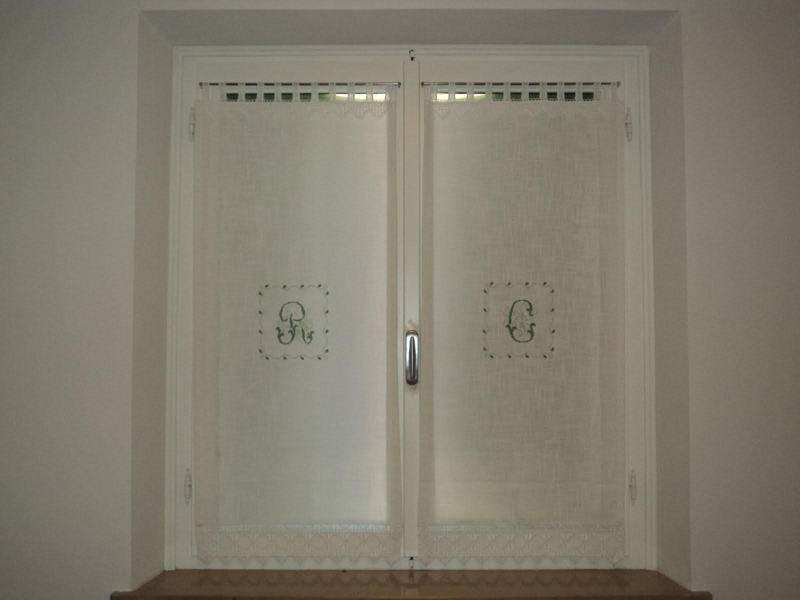 Cucina curva - Idee per tende finestra bagno ...
