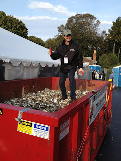 oyster restoration oyster shell recycling