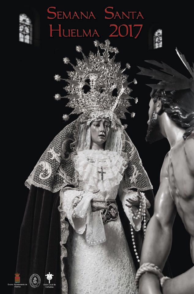 CARTEL SEMANA SANTA HUELMA 2017