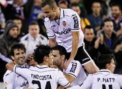 Celebración Valencia C.F.