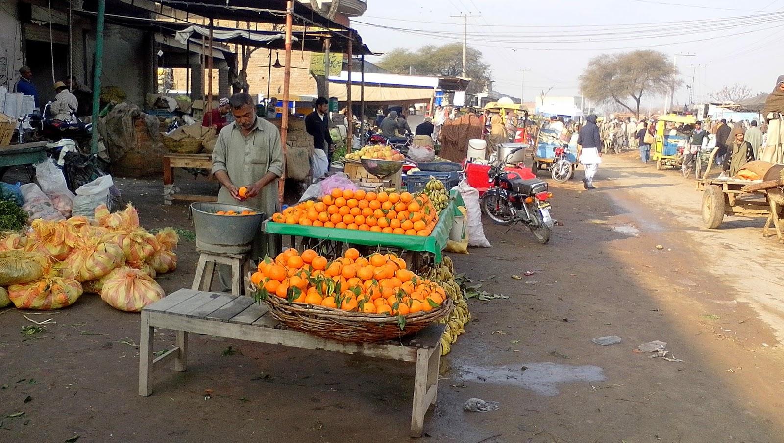 oranges-pakistan-market