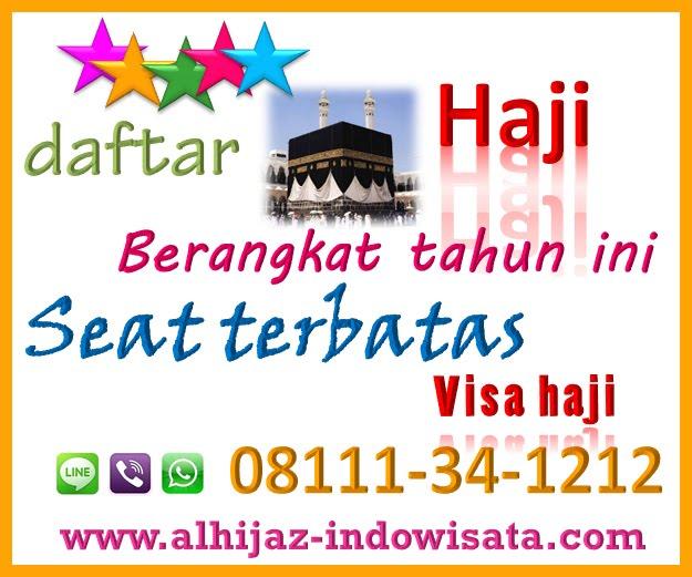 Paket Haji Non Kuota visa Furoda 2018 CP. 08111-34-1212