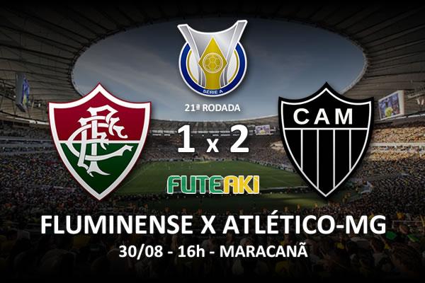 Veja o resumo da partida com os gols e os melhores momentos de Fluminense 1x2 Atlético-MG pela 21ª rodada do Brasileirão 2015.