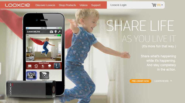 Mobile, iPad app to share and broadcast live videos on the go