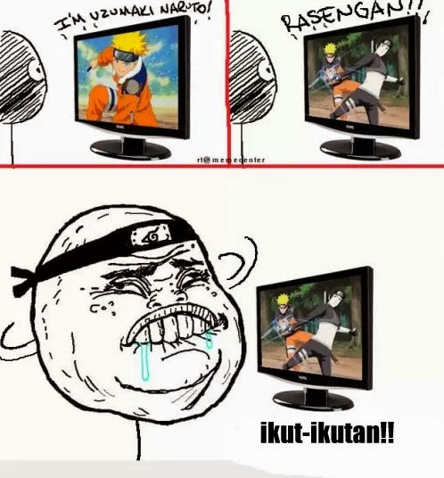 Kumpulan Gambar Lucu Naruto dan One Piece