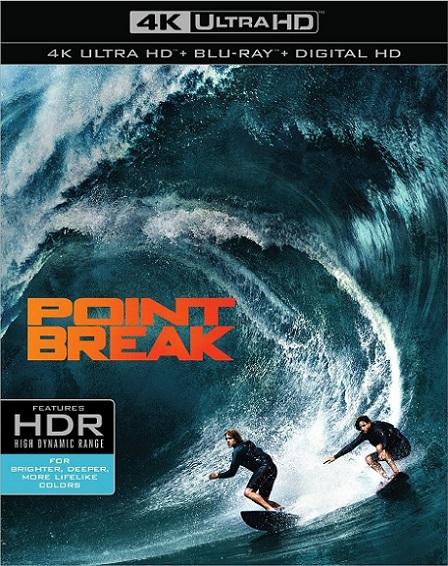 Point Break 4K (Punto de Quiebre 4K) (2015) 2160p 4K UltraHD HDR BDRip 17GB mkv Dual Audio DTS-HD 7.1 ch