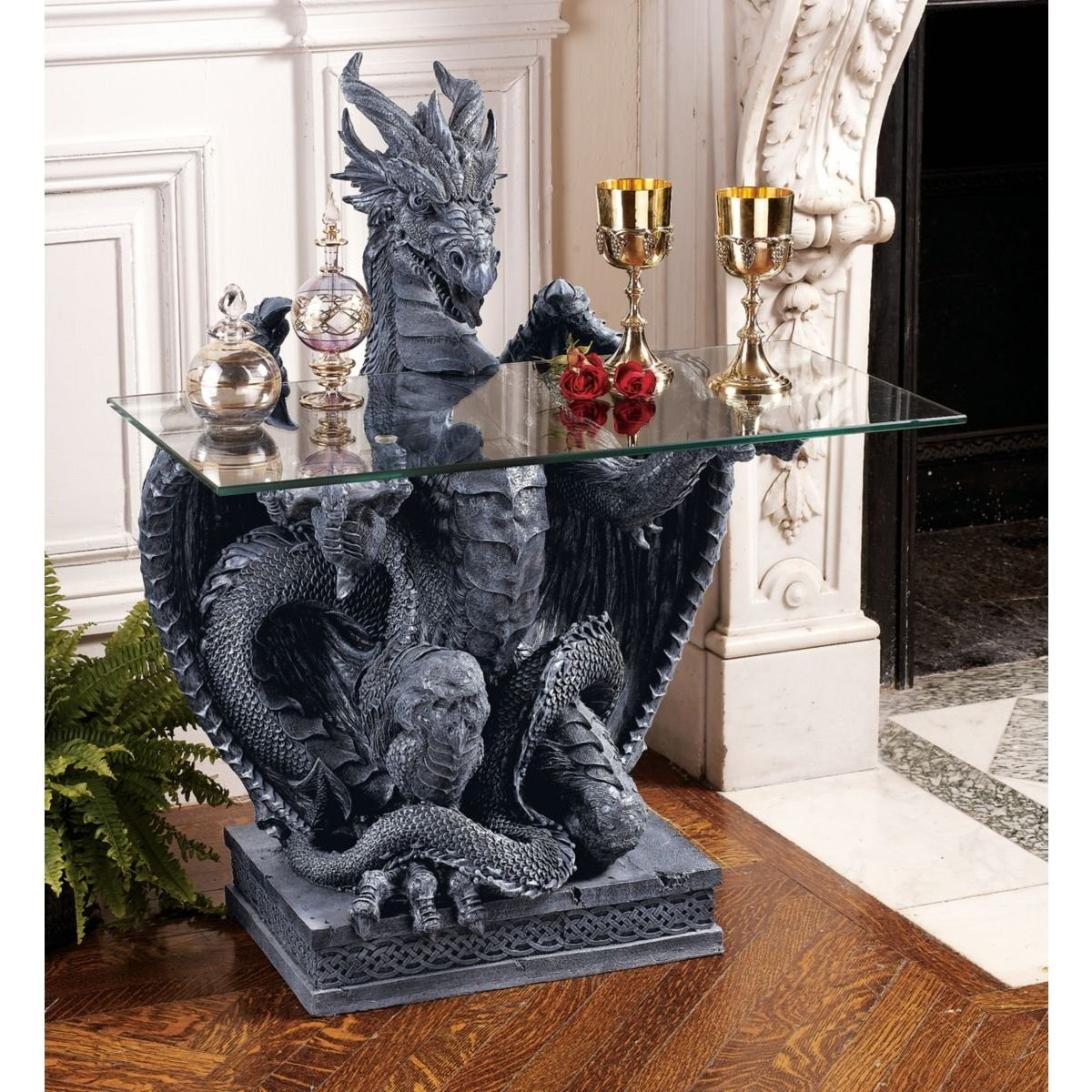 Gargoyle garden statues dragon gargoyles for Gargoyle decor