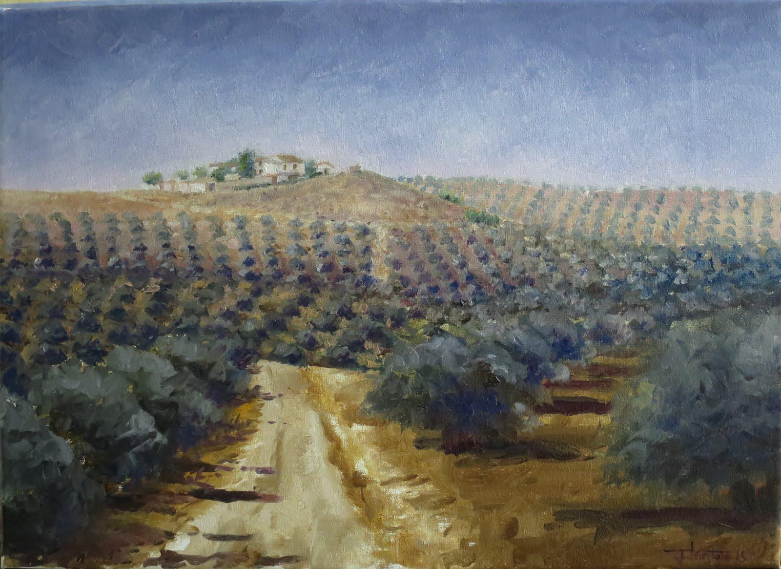 Cadenas desde el carril; Fuerte del Rey, Jaén (8P)