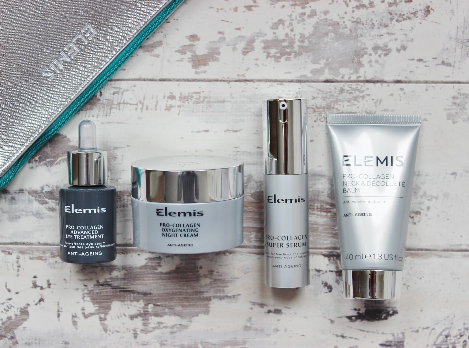 Elemis Pro Collagen QVC TSV 12 September 2015 contents