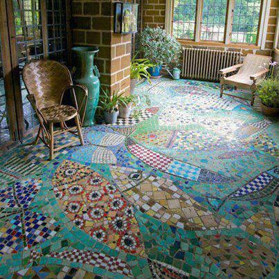 Pontos de interesse mosaicos e azulejos for Mosaico para piso