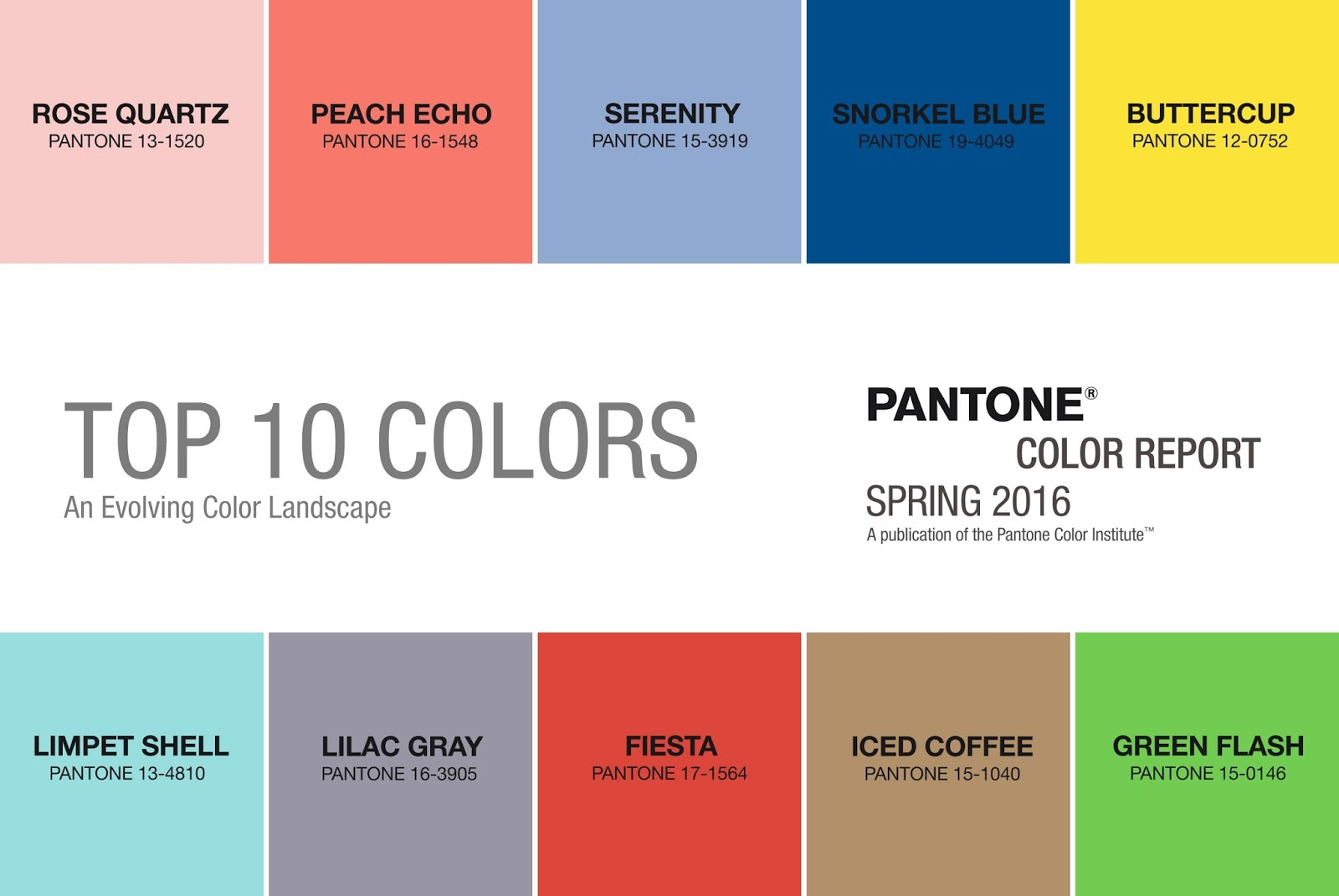 Paint colors website - Above Is Pantone S 2016 Color Report For Spring 2016 Their Report Says That Colors For The Upcoming Spring Season Transcend Cultural And Gender Norms