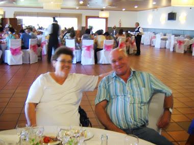 João Daira e a esposa