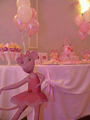 Mytotalnet Com Children Parties Angelina Ballerina