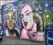 Kamloops B.C. Back Alley Art