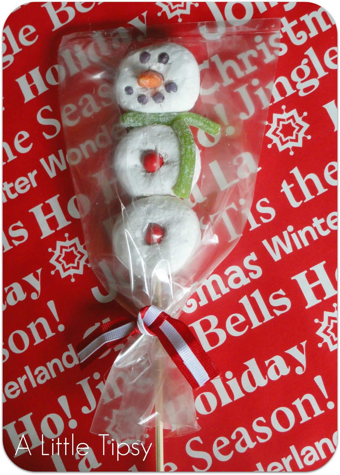 Place In A Treat Bag With A Bow And Pass Out To Your Friends