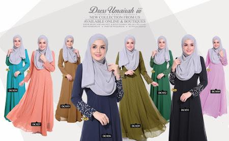 Yang Paling Menawan Dah Tiba Dress Umairah III Paling Exclusive