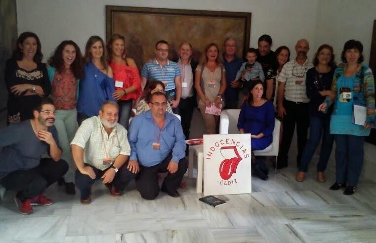 Indocentes en el I Encuentro Poetas de Ahora, en Cádiz, nov. 2013