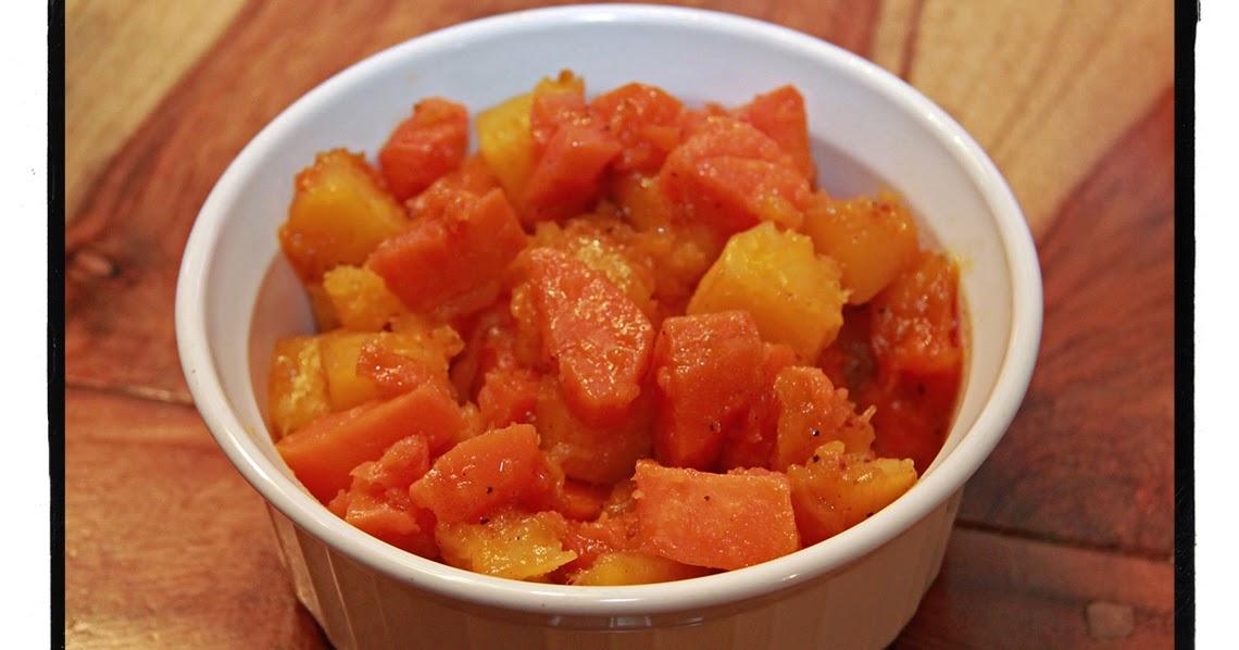 Courge butternut et patates douces r ties au sirop d - Quand recolter les patates douces ...