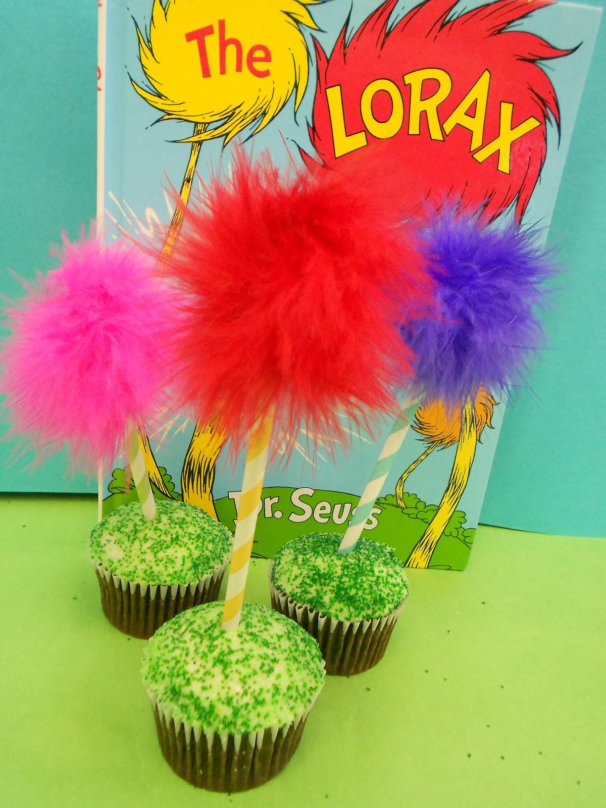 *Jennuine by Rook No. 17*: Lorax Truffula Tree Cupcakes ...