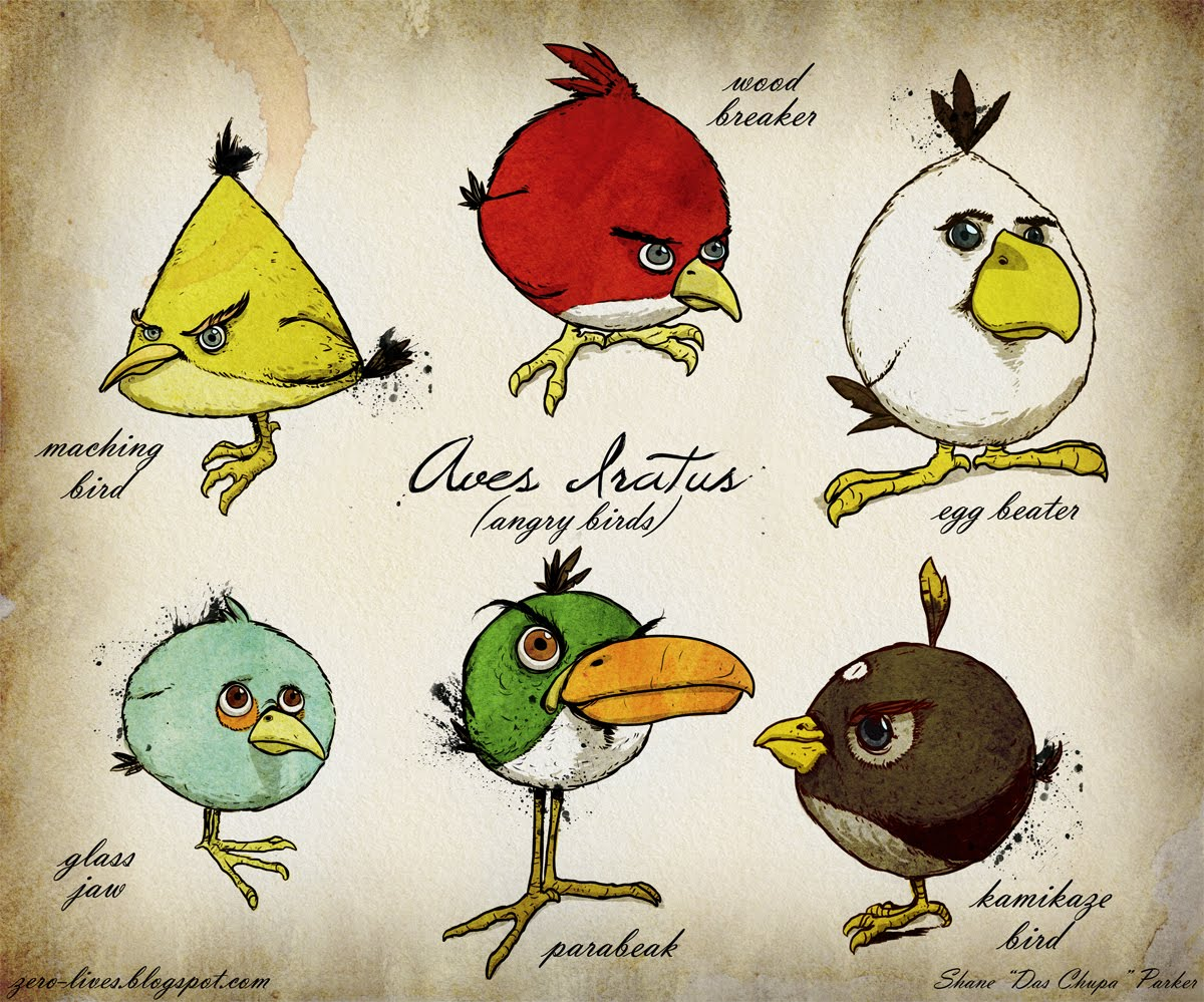 Angry Birds Drawings