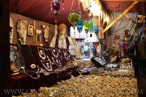 Mercadillo Medieval de Navidad 2011 de Coslada