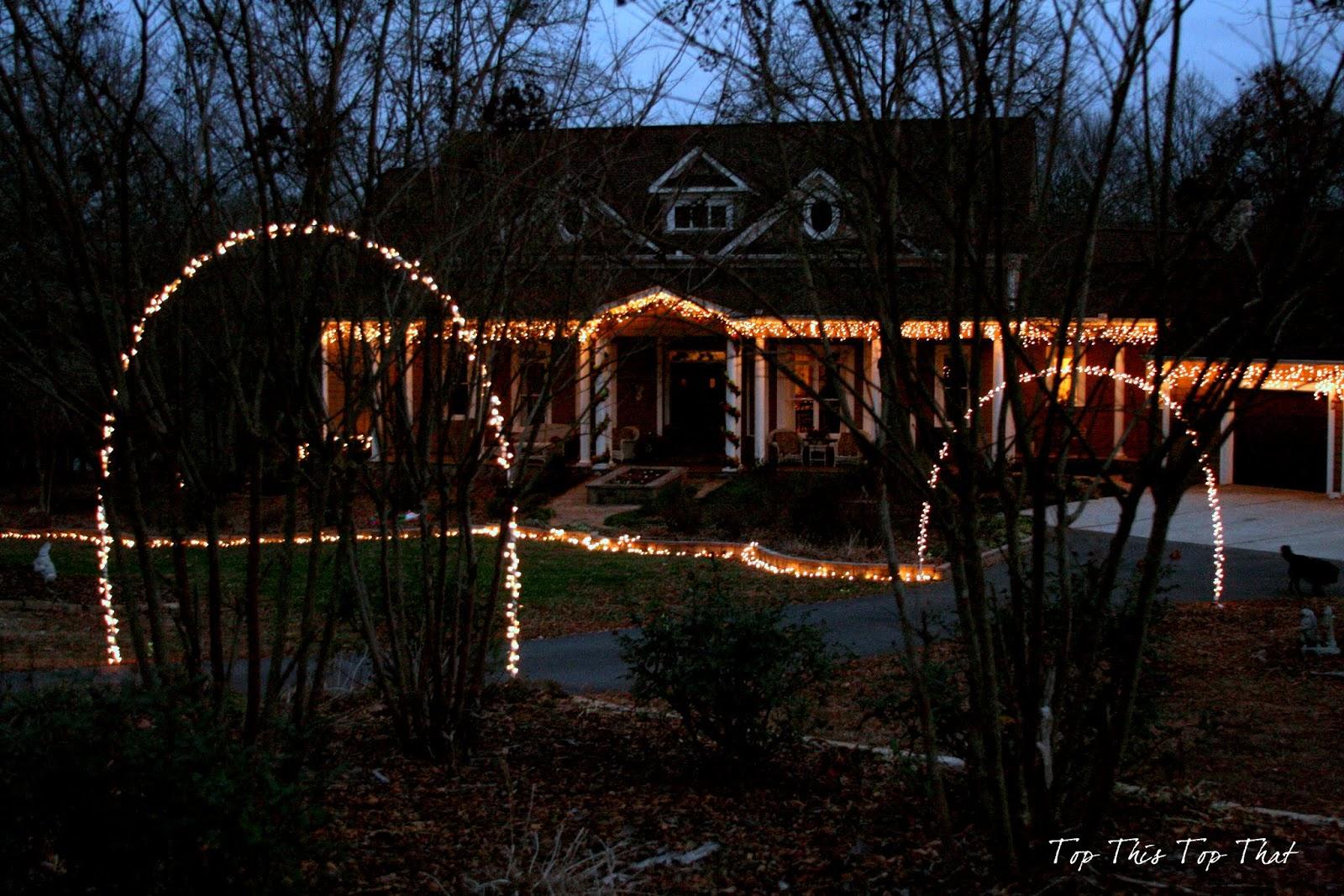 Outdoor Christmas Lights - Duke Manor Farm