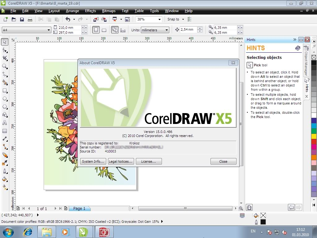 corel draw x force keygen free download