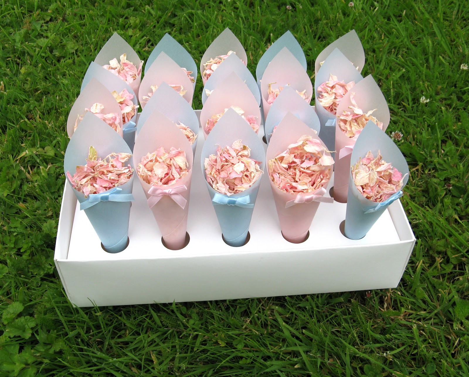 paper cones wedding. cool could hang confetti cones on each chair wedding . paper