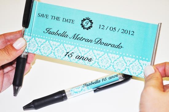 Save the date Debutante