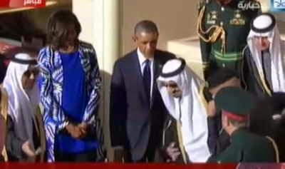 VIDEO Raja Arab Saudi Tinggalkan Obama Demi Menjawab Panggilan Azan