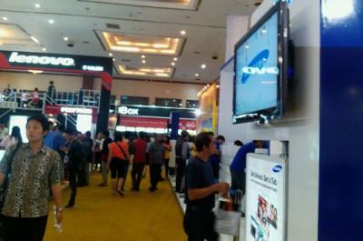 Hari Ini Pameran Gadget Mega Bazaar Consumer Show 2014 Resmi Dibuka
