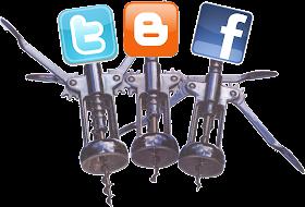 facebook,twitter,blogger
