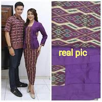 Baju Batik Pasangan Dress Motif Batik Parang