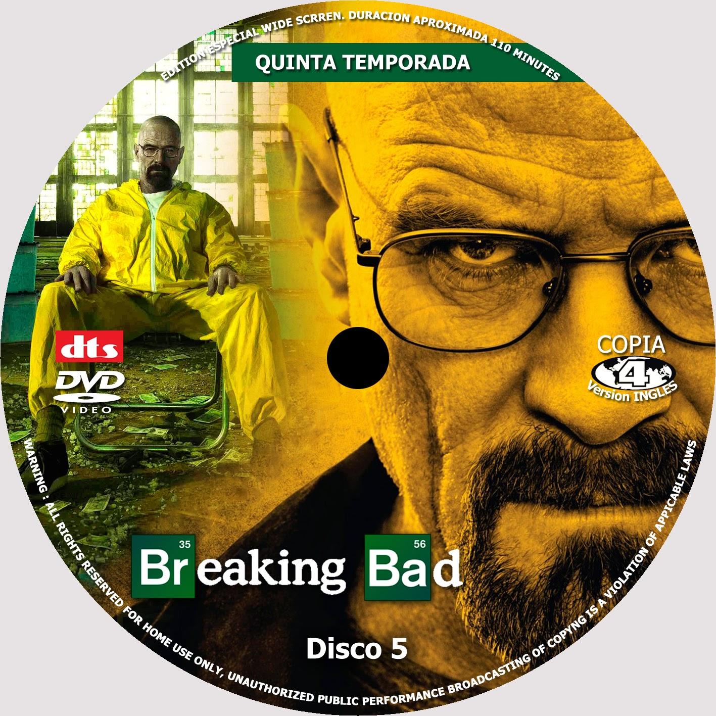 covercaratulas de dvd cd covercreators breaking bad