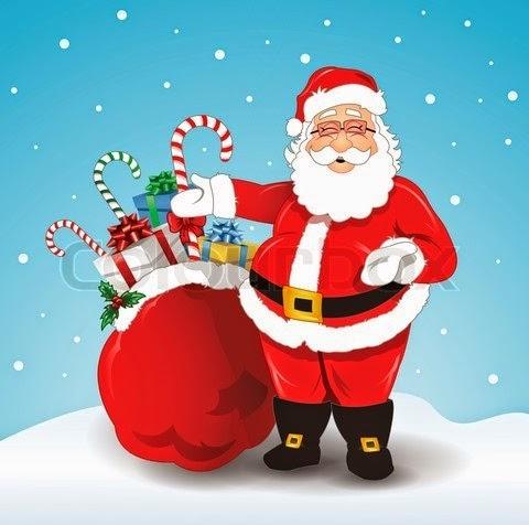 Santa Claus Whatsapp DP