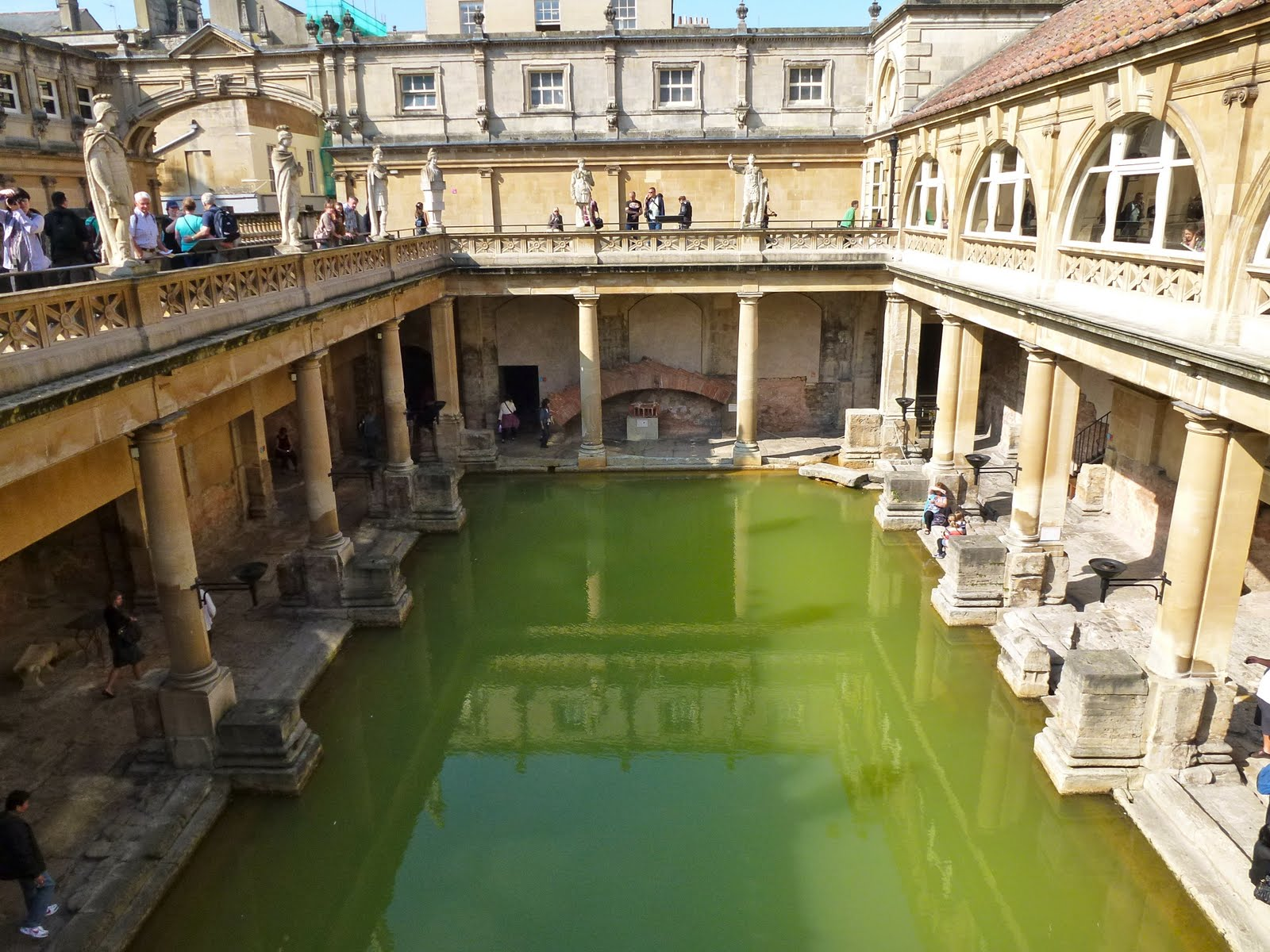 the baths of aquae sulis History of the spa  archaeology carried out prior to construction suggests the baths at aquae sulis would have been nearly twice as large as previously thought.
