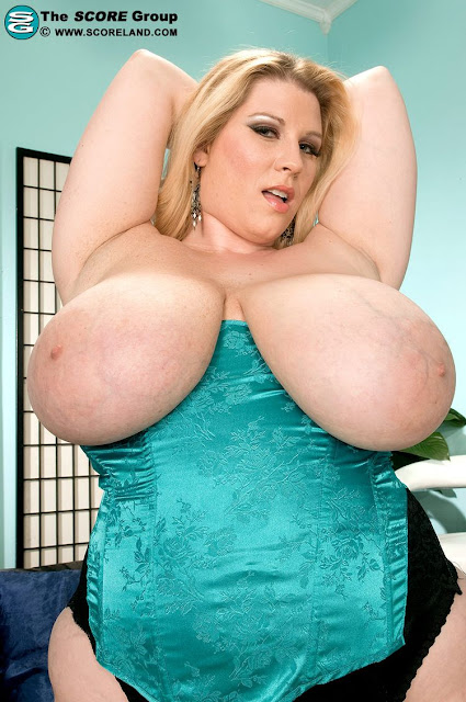 Renee Ross' giant natural  tits with huge areolas