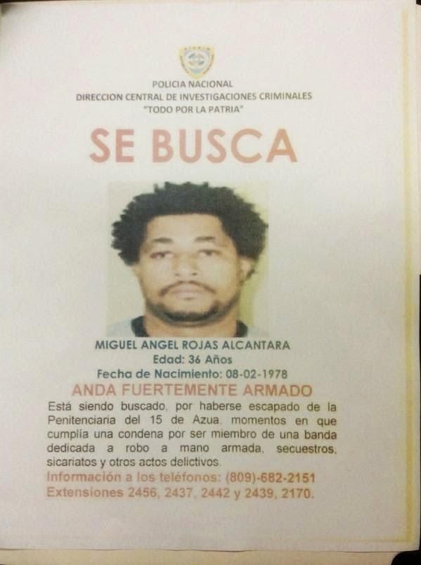 Se escapo cárcel 15 de Azua hombre dirigió asalto a Najayo donde hubo 6 muertos