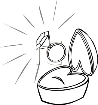 Wedding Ring Colouring Pages Page 2 Sketch Coloring Page