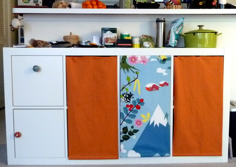 Expedit kitchen storage hack get home decorating - Rangement couture ikea ...